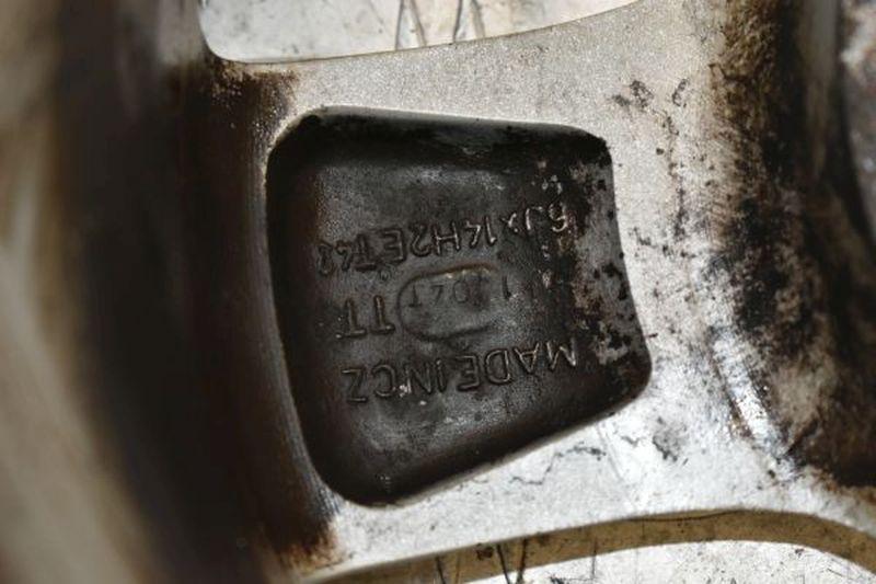 Aluminiumfelge 6JX14 H2 ET43 LK5X1001Satz(je4Stück)