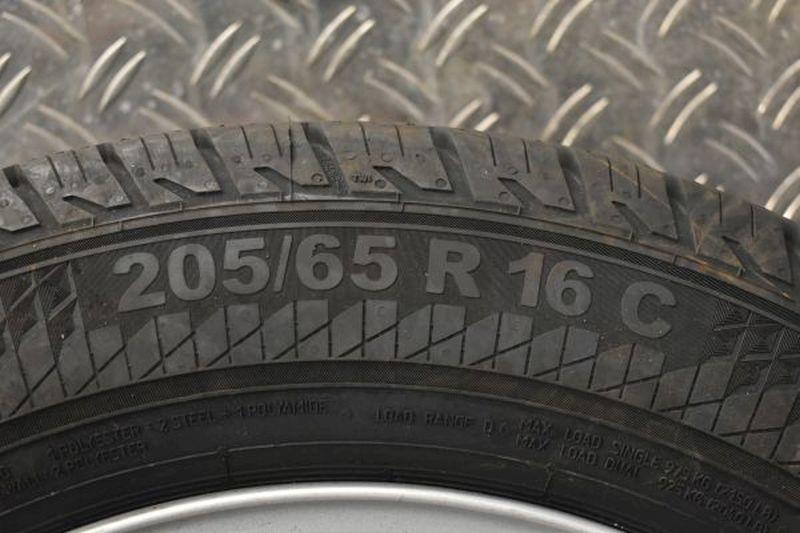 Komplettrad:205/65R16C 107/105T Auf Stahlfelge 6JX16 H2 ET50 LK5X114,3